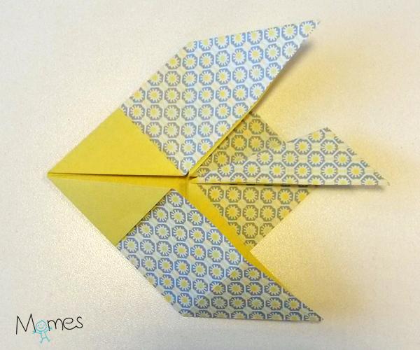 poisson origami etape 7