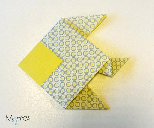 poisson origami etape 8