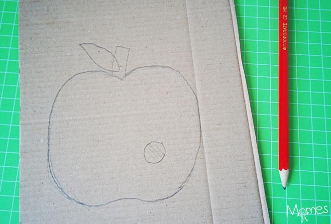 pomme bricolage