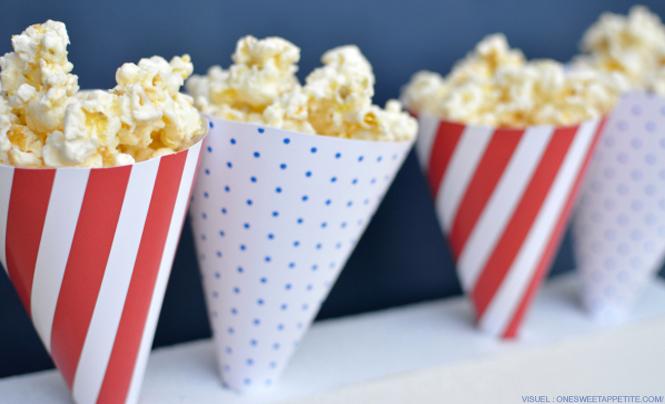 popcorn salé