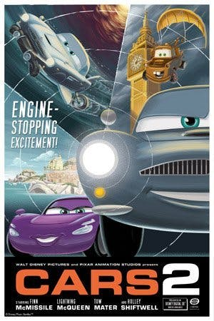 Poster Cars 4