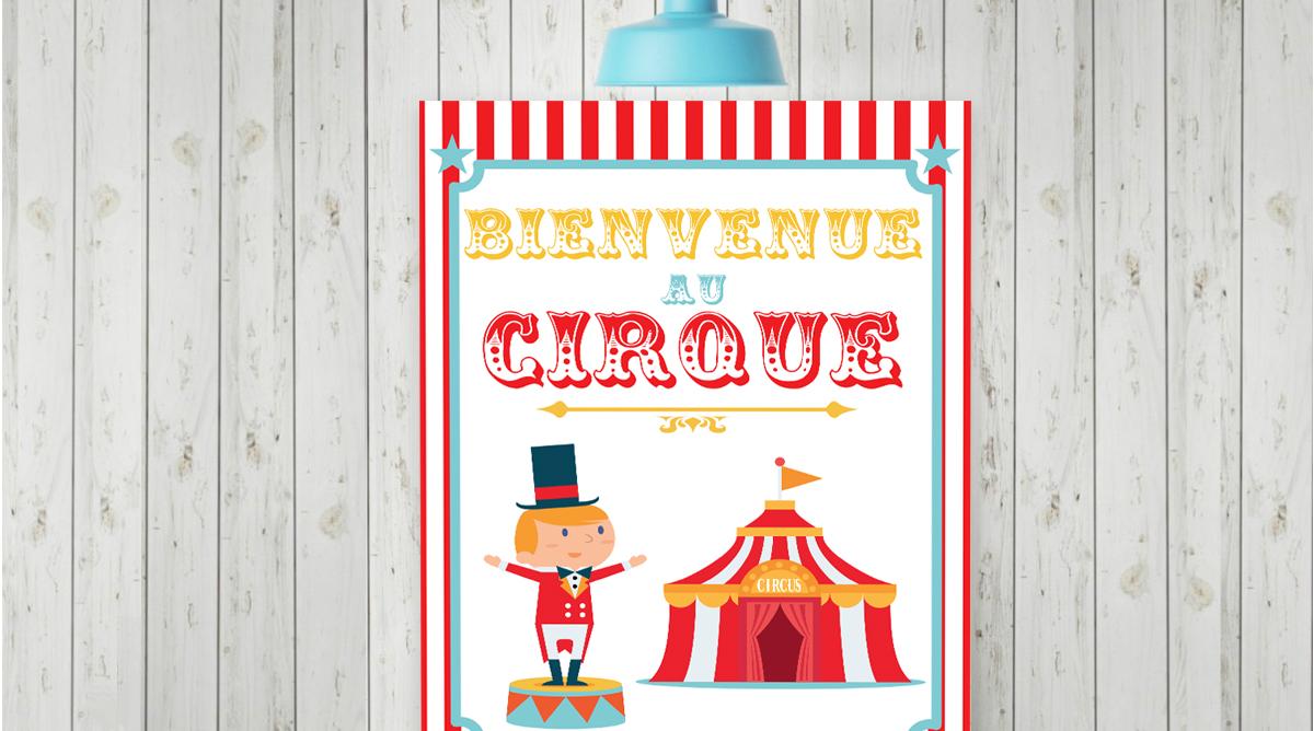 Le célèbre Poster cirque à imprimer - Momes.net #JT_36