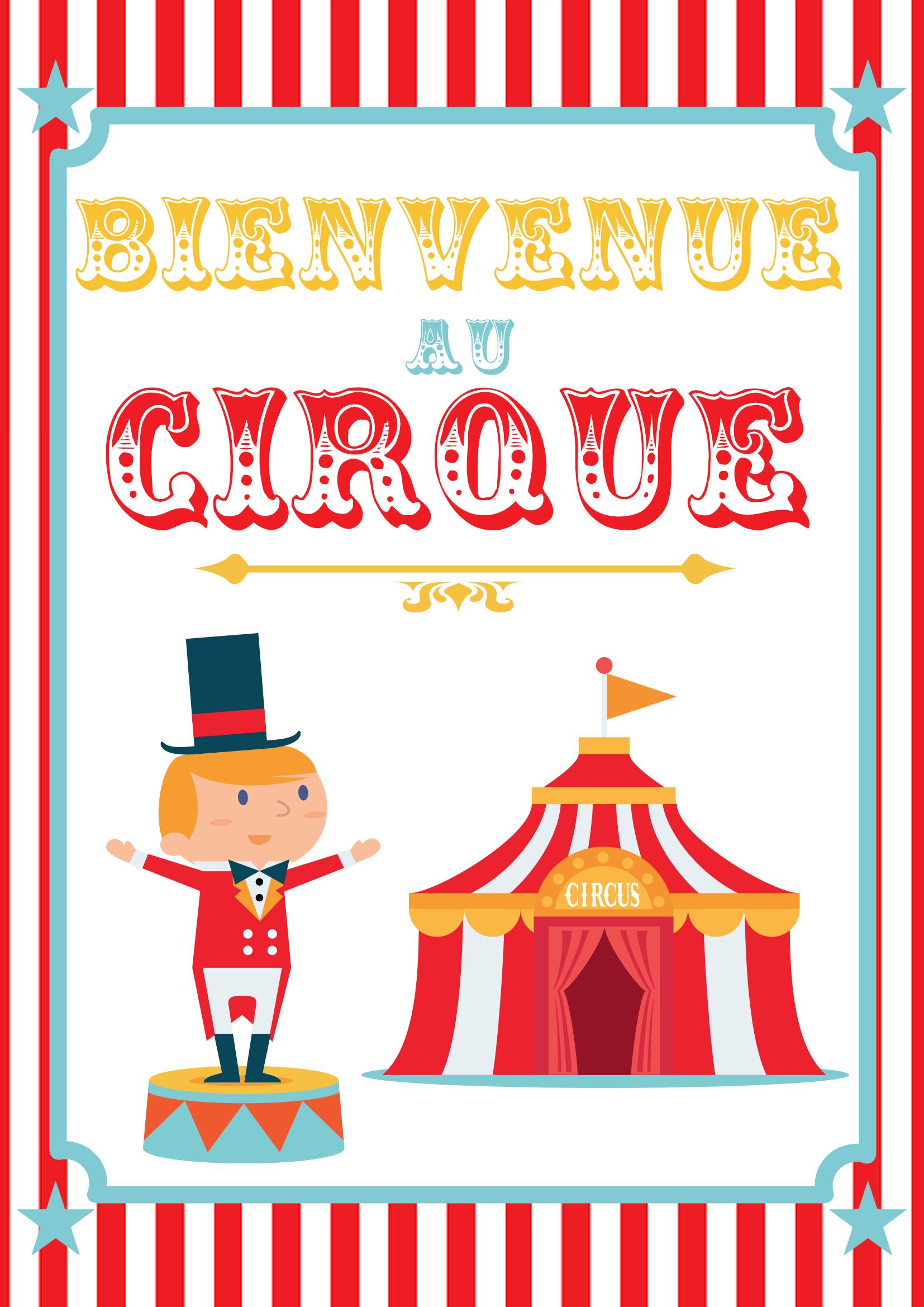 Hervorragend Poster cirque à imprimer - Momes.net MJ22