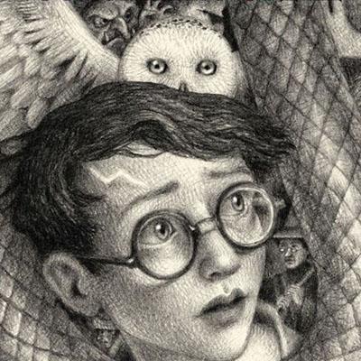 20 ans Harry Potter nouvelles couvertures illustrées Brian Selznick