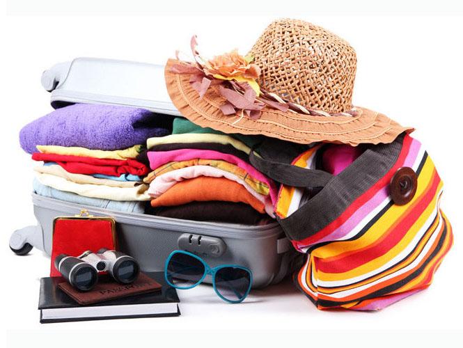 Préparer la valise et les vêtements pour la route