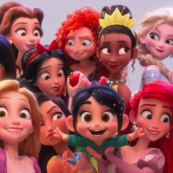 Disney princesses série télévision plateforme Disney + super pouvoirs