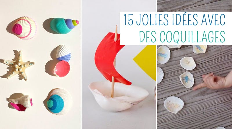 idees brico coquillage