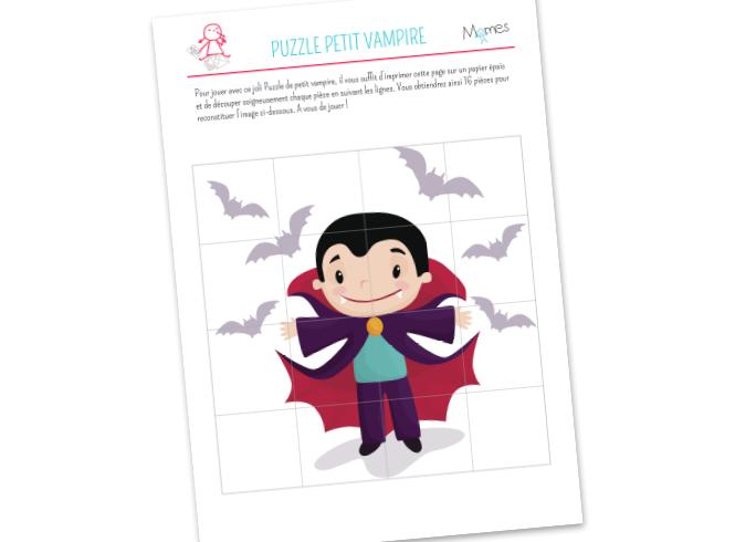 Puzzle Petit Vampire