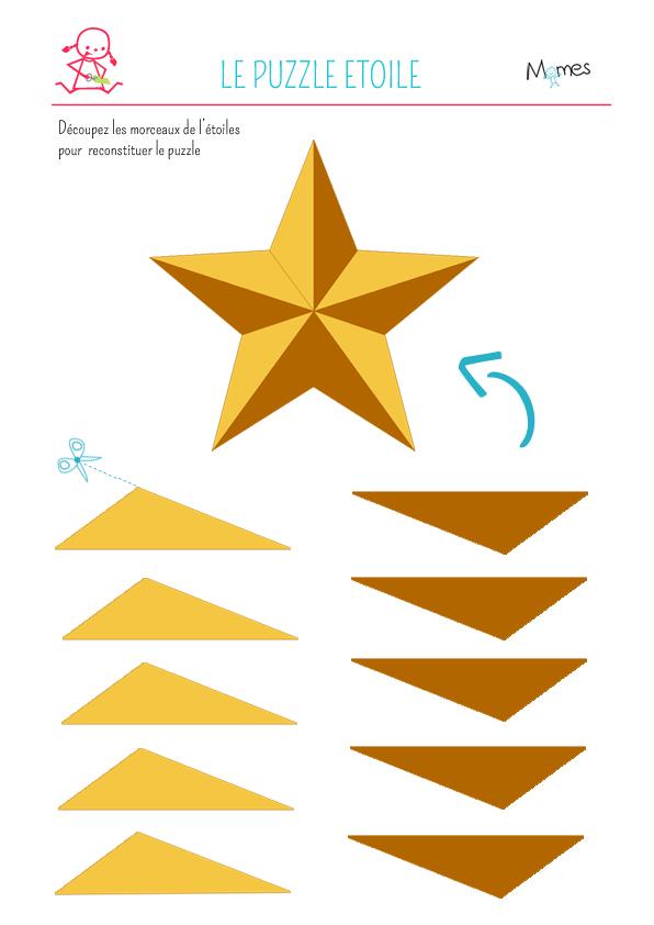 Puzzles d'étoiles