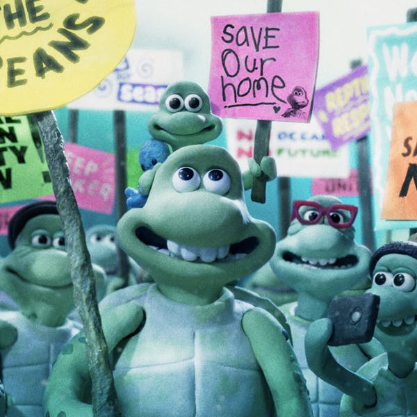 greenpeace wallace et gromit film publicitaire le voyage des tortues protection océans