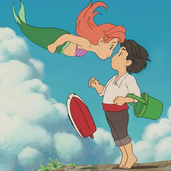 personnages de Disney s'invitent dans univers ghibli Andhka Muskin
