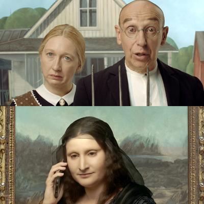 tableaux animés musée arts