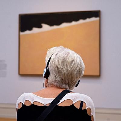 Quand les visiteurs d'un musée sont assortis aux tableaux qu'ils regardent