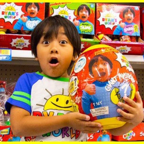 Ryan enfant star youtube jouets walmart Ryan Toysreview Ryan's World