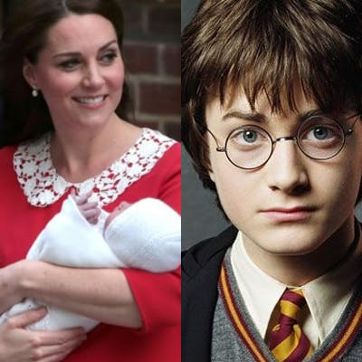 Quel étrange lien unit le Royal Baby à Harry Potter ?