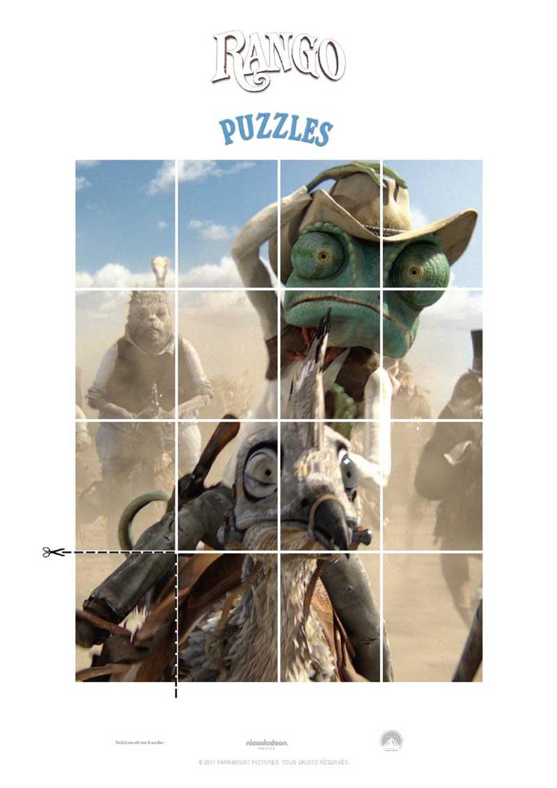 Rango : puzzle 3