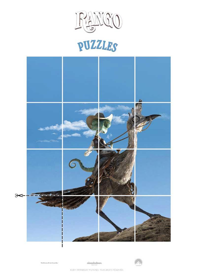 Rango : puzzle