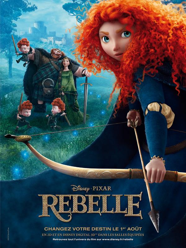 Affiche Rebelle