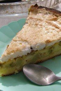Recette de la tarte à la rhubarbe