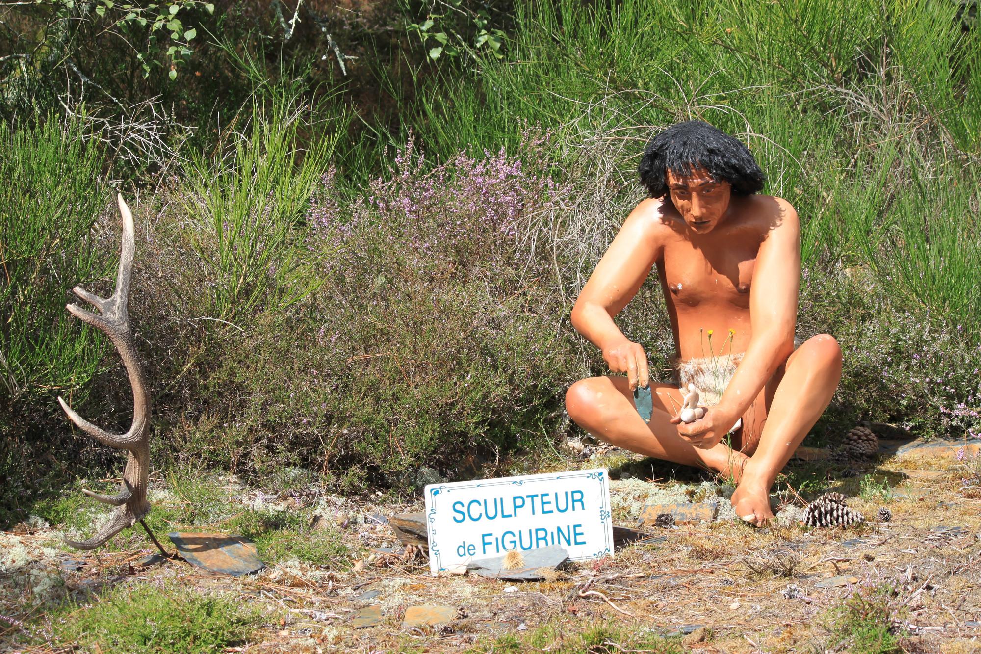 Reconstition les hommes de la préhistoire