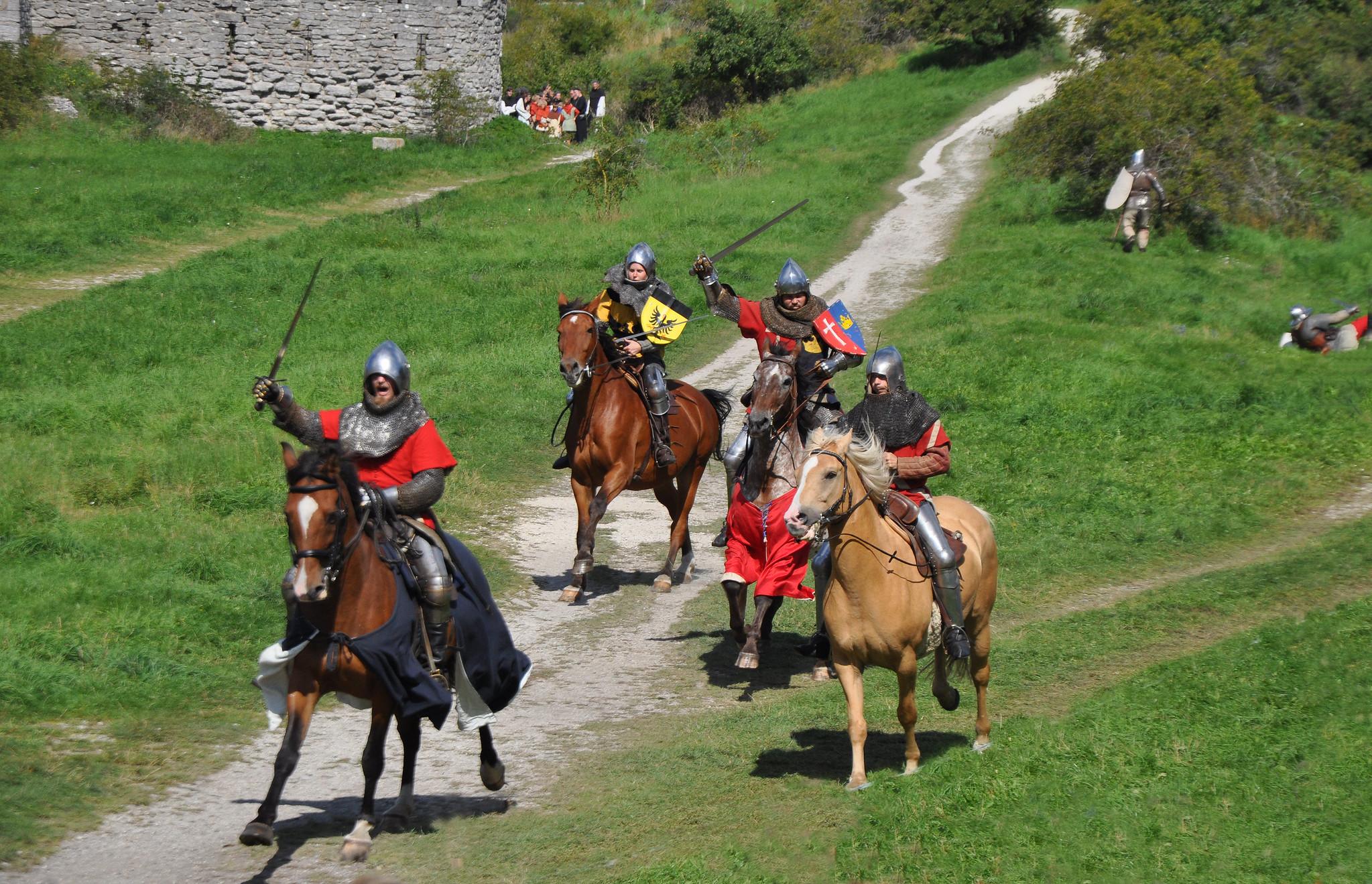 Reconstitution - bataille de 1361