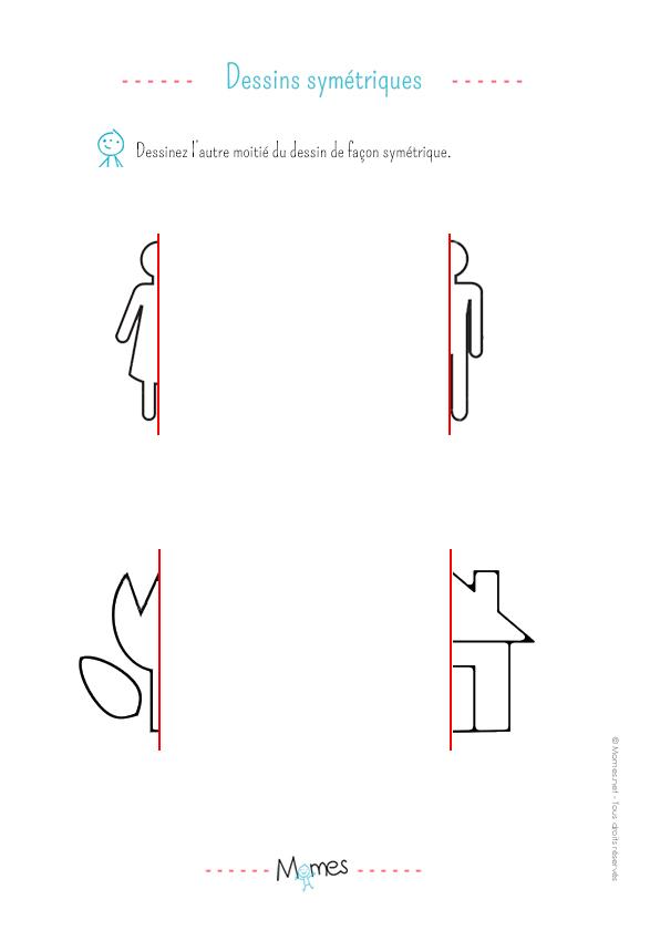Reproduction symétrique (2): exercice