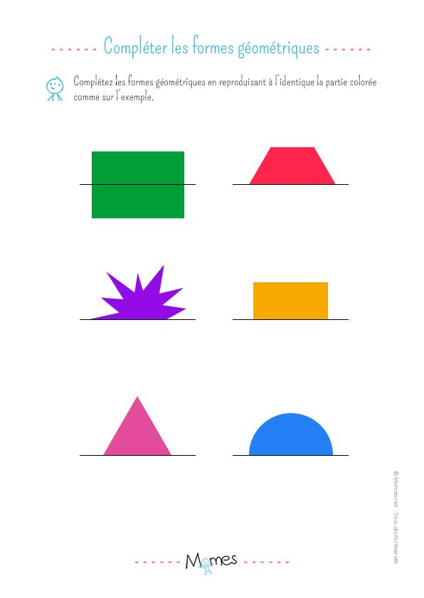 Reproduction symétrique (3): exercice