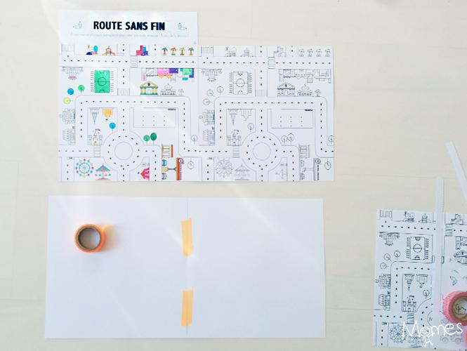 Coloriage Geant A Imprimer En Plusieurs Parties.Jeu De Route A Imprimer Momes Net