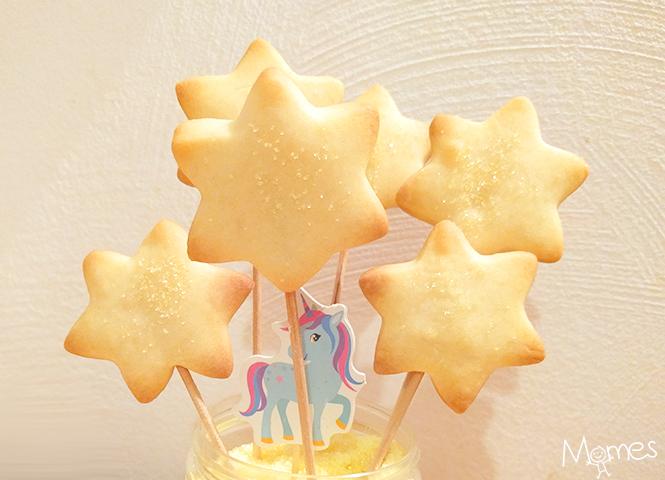 recette biscuits baguette magique
