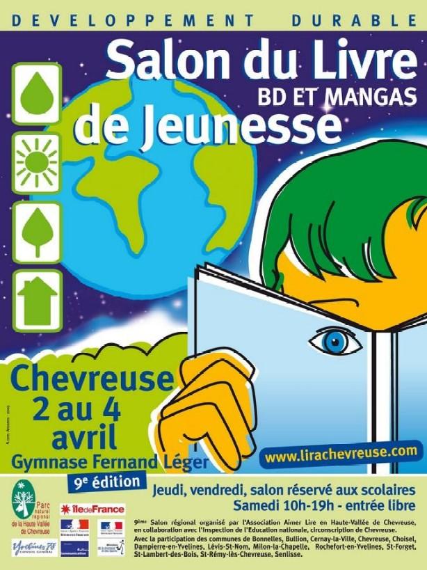 Image Salon du Livre jeunesse, BD et mangas de Chevreuse