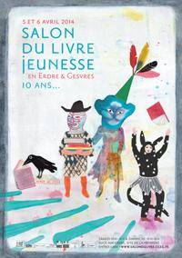 Image Salon du livre jeunesse en Erdre et Gesvres