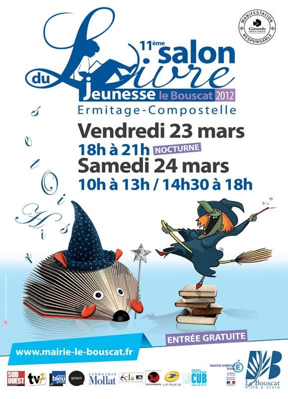 Salon du livre jeunesse le bouscat 2012 for Salon du livre jeunesse montreuil