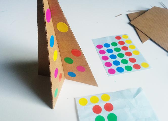 decorer sapin carton