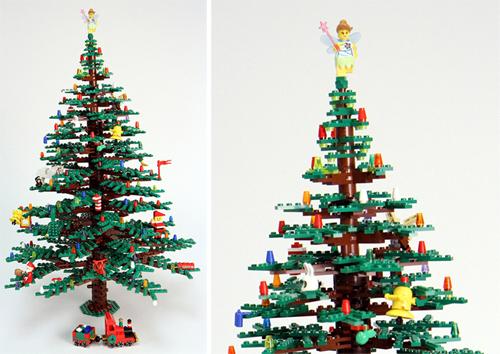 Sapin de Noël en Lego