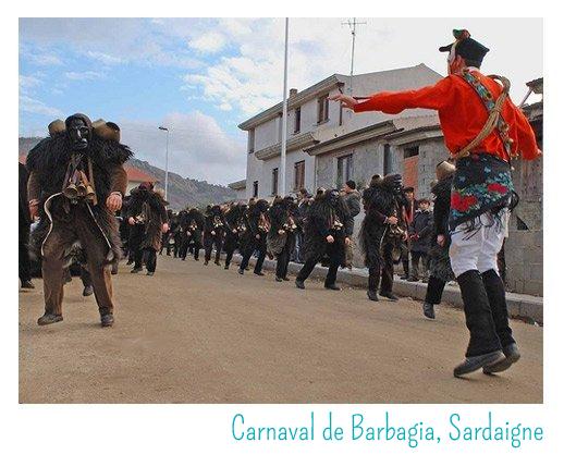 carnaval sardaigne barbagia