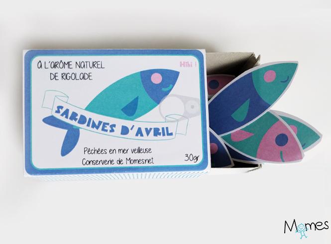 boite de sardines à imprimer
