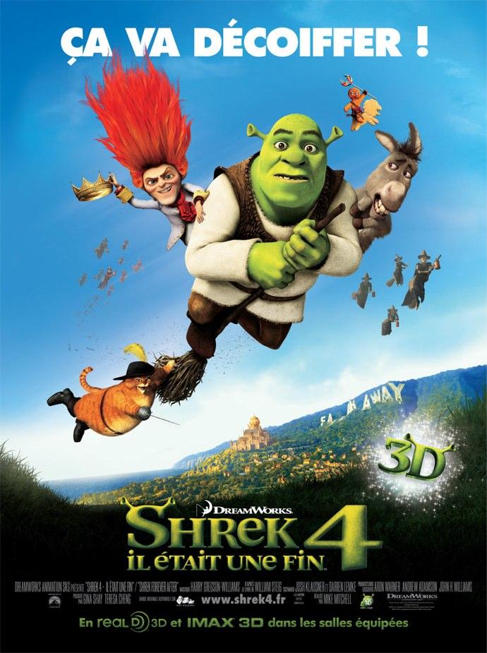 Affiche Shrek 4 il était une fin