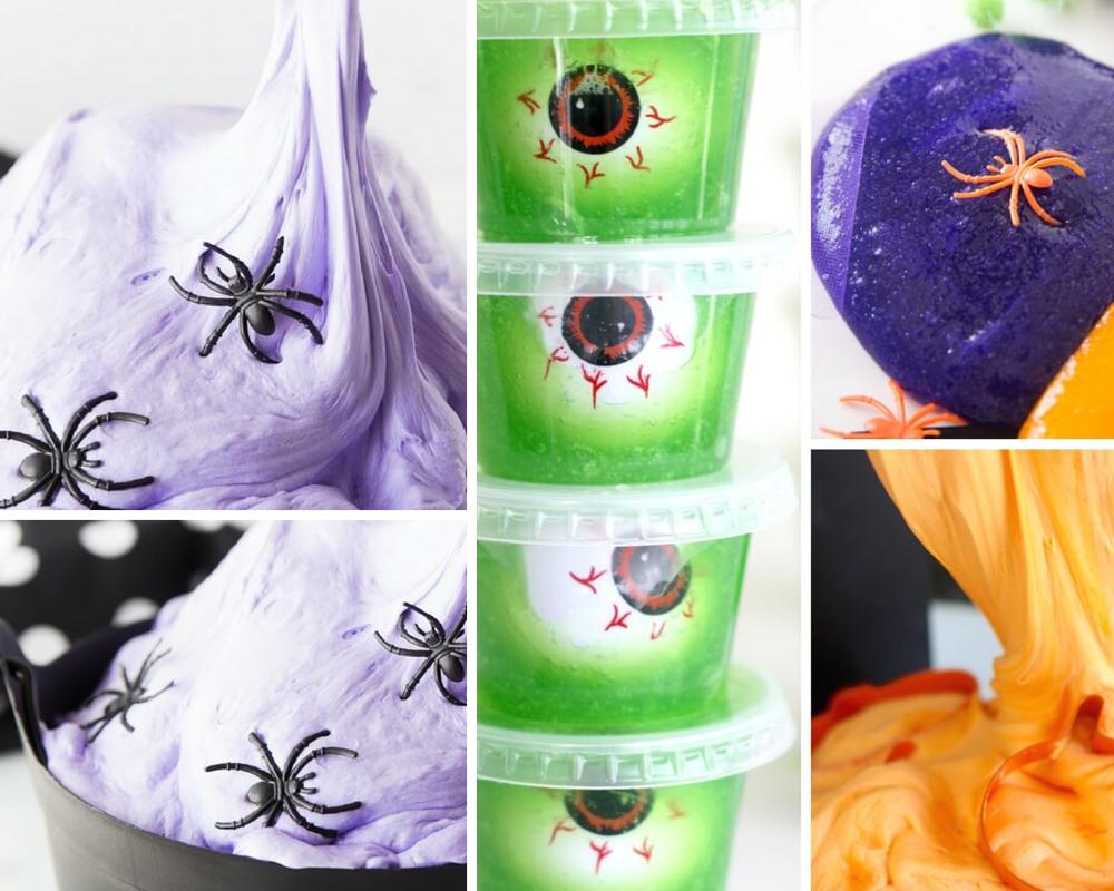 Slime 20 idées Slime Halloween