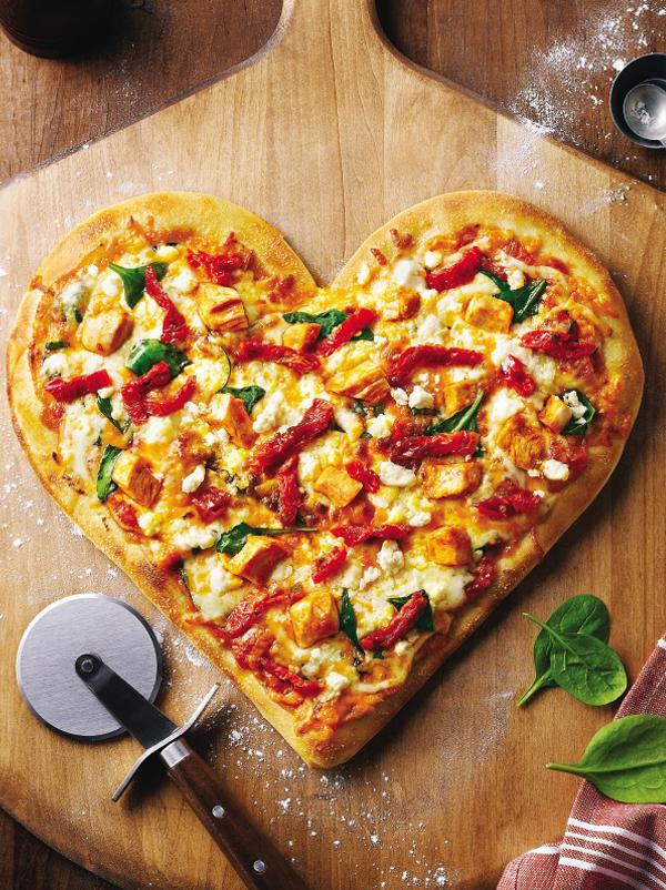 Snack pizza au jambon cuit