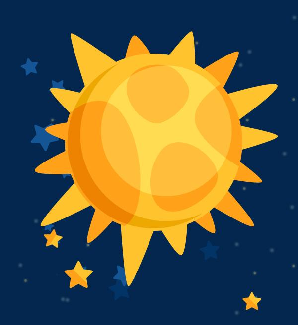 le soleil est une étoile