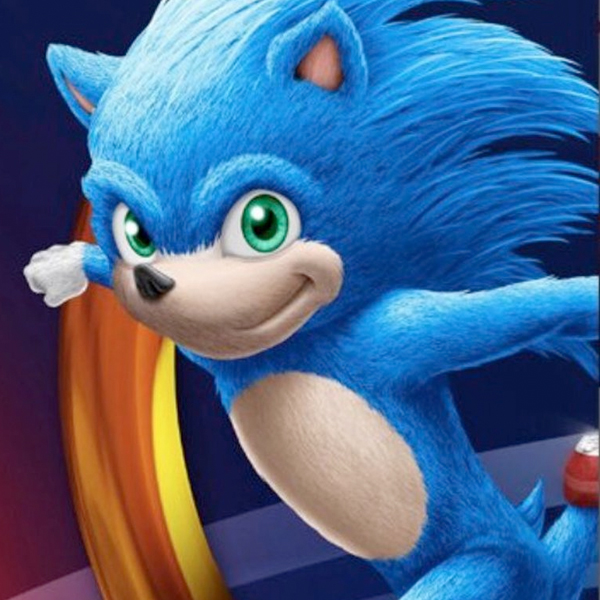 film sonic the hedgehog nouveau look personnage détesté jeu vidéo sega