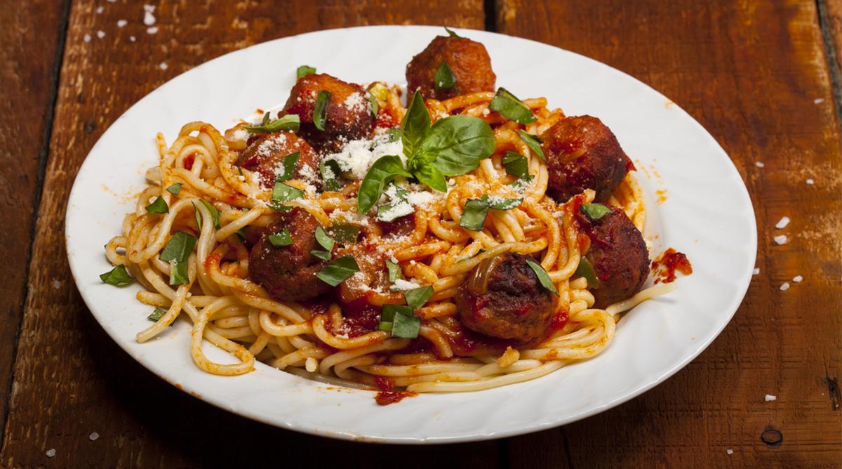 Spaghettis de la Belle et le Clochard - Momes.net