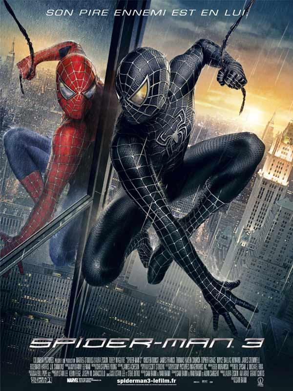 Affiche Spiderman 3