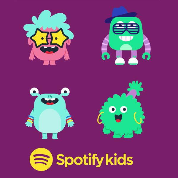 spotify kids application enfants moins de 12 ans contenus adaptés