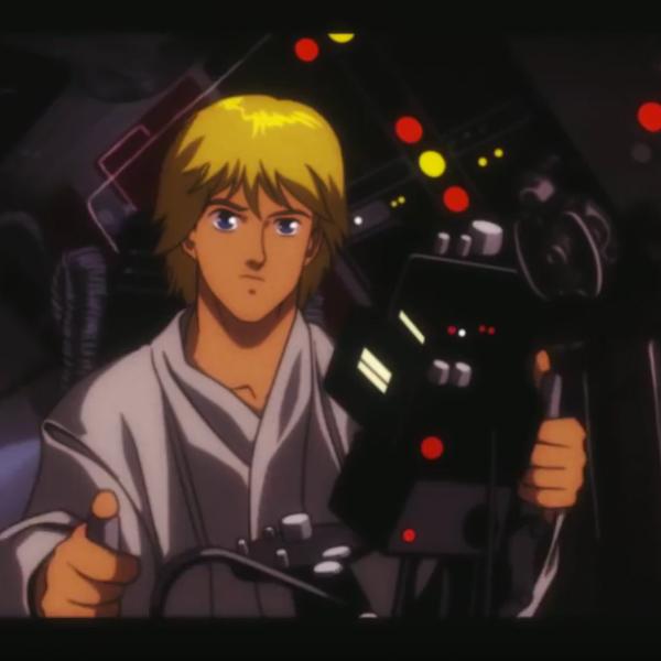 bande annonce Star wars épisode IV un nouvel espoir en dessin animé