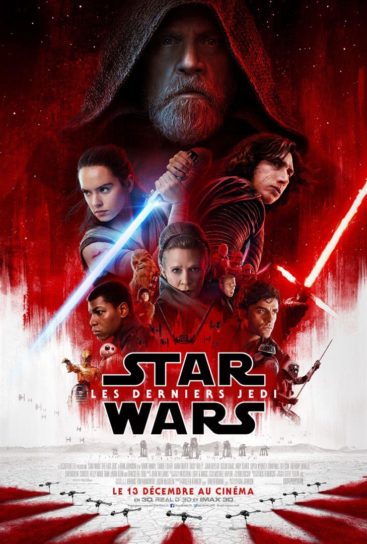 Star Wars - Les derniers Jedi affiche