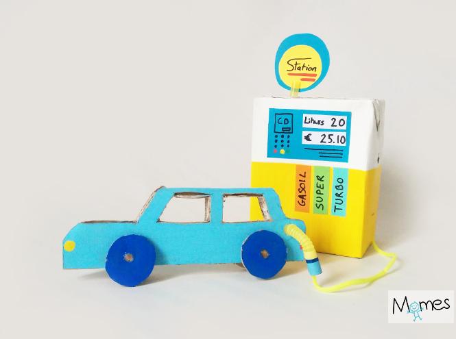 diy station essence jouet