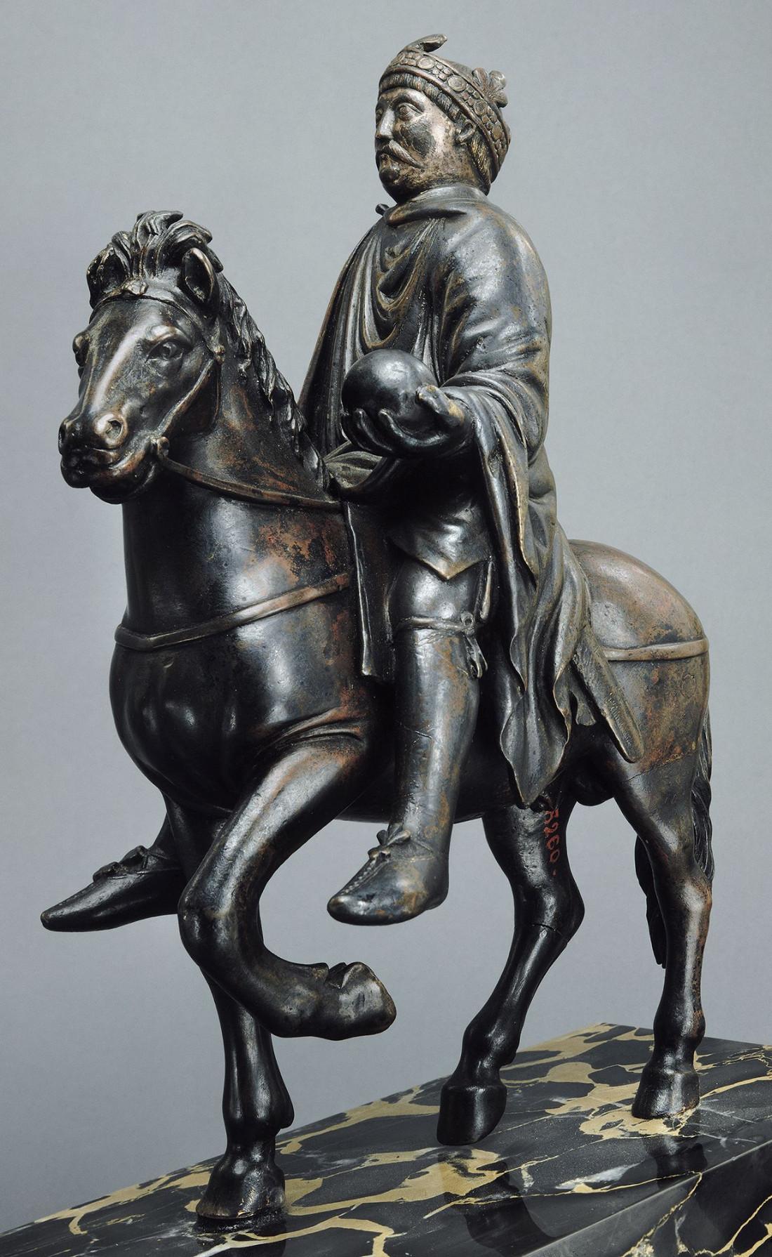 Statue équestre de Charlemagne
