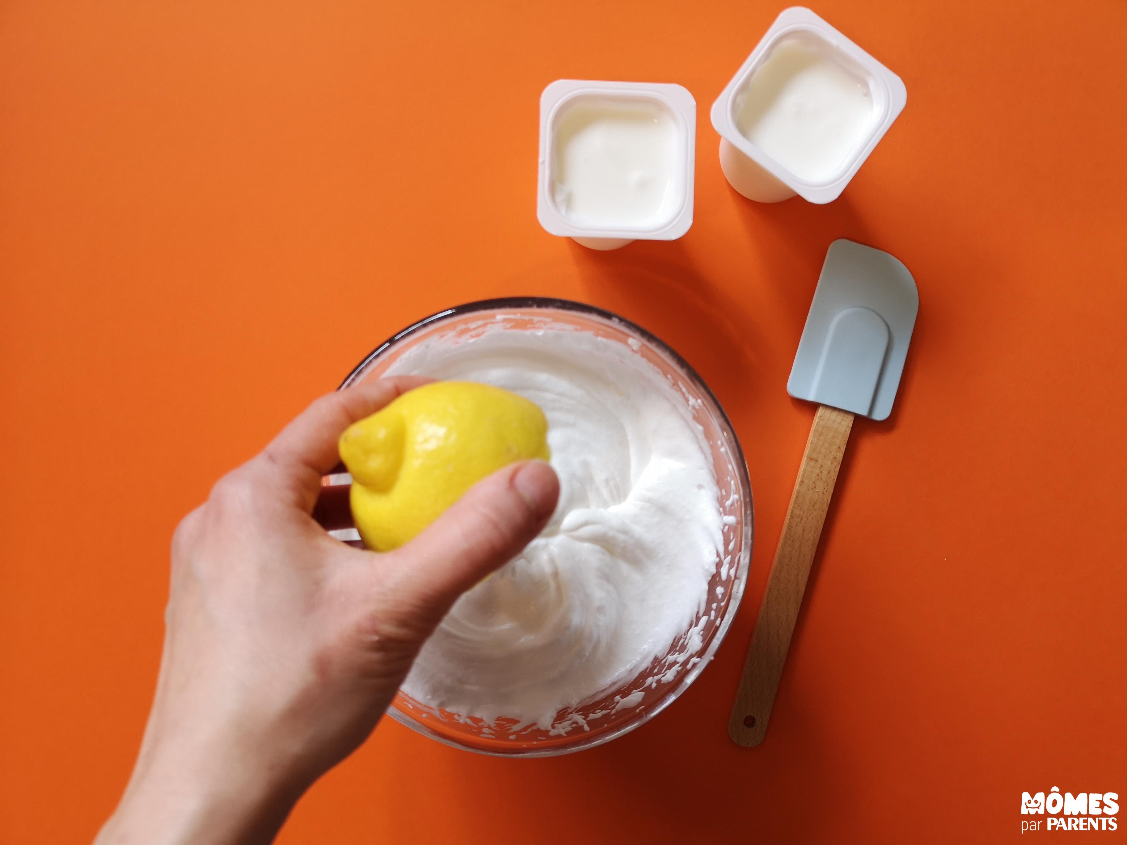 step 2 mousse citron