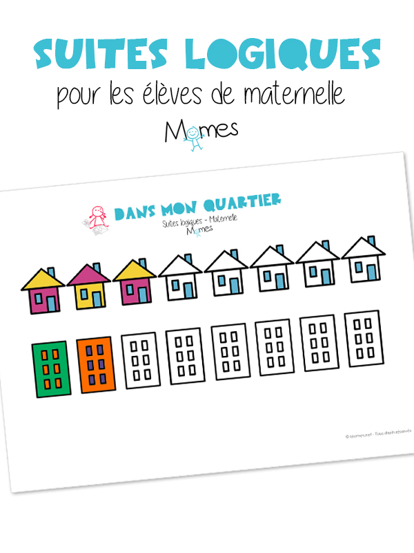 Suite logique : les maisons - Momes.net